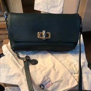 Authentic like new Lanvin shoulder/clutch bag.